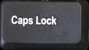 Клавиша Caps Lock