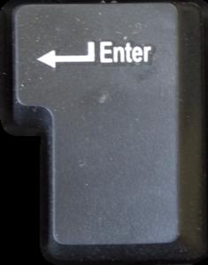 Клавиша Enter