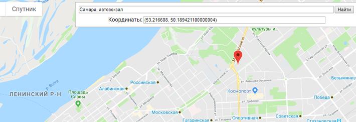 Получить адрес по координатам из 1с с помощью Google Maps