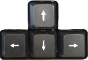 Клавиши стрелки